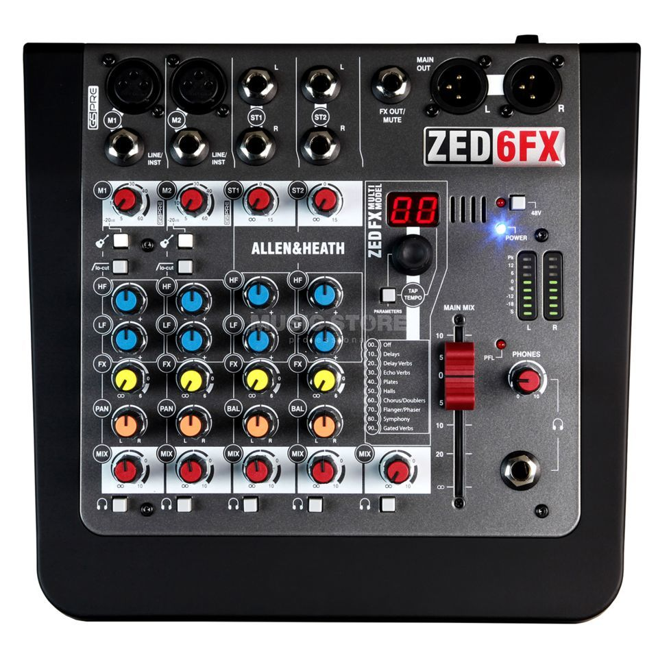 Allen & Heath ZED-6FX Product Image