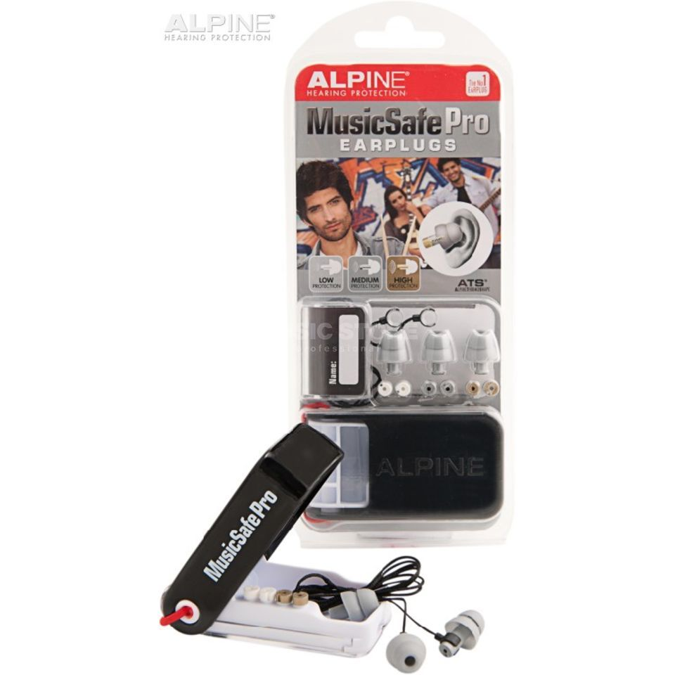 Alpine MusicSafe Pro Ear Protection, Silver Edition Produktbillede