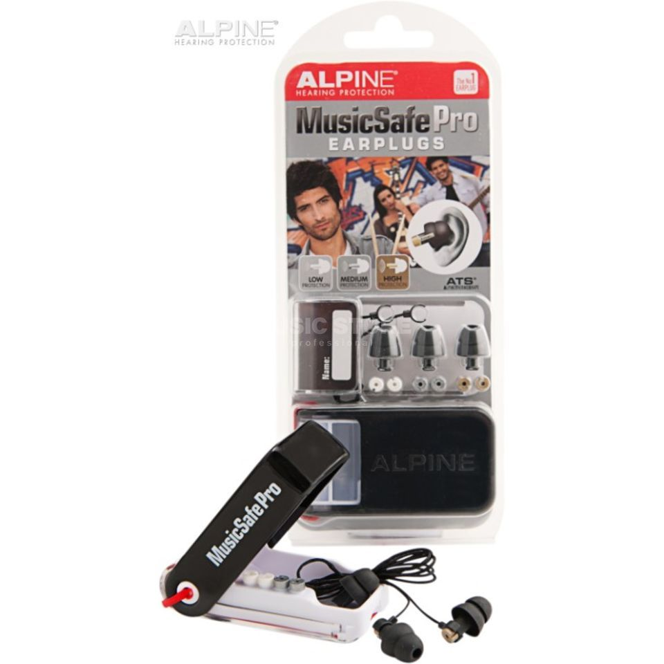 Alpine MusicSafe Pro Hearing Protection - Black Edition Produktbillede