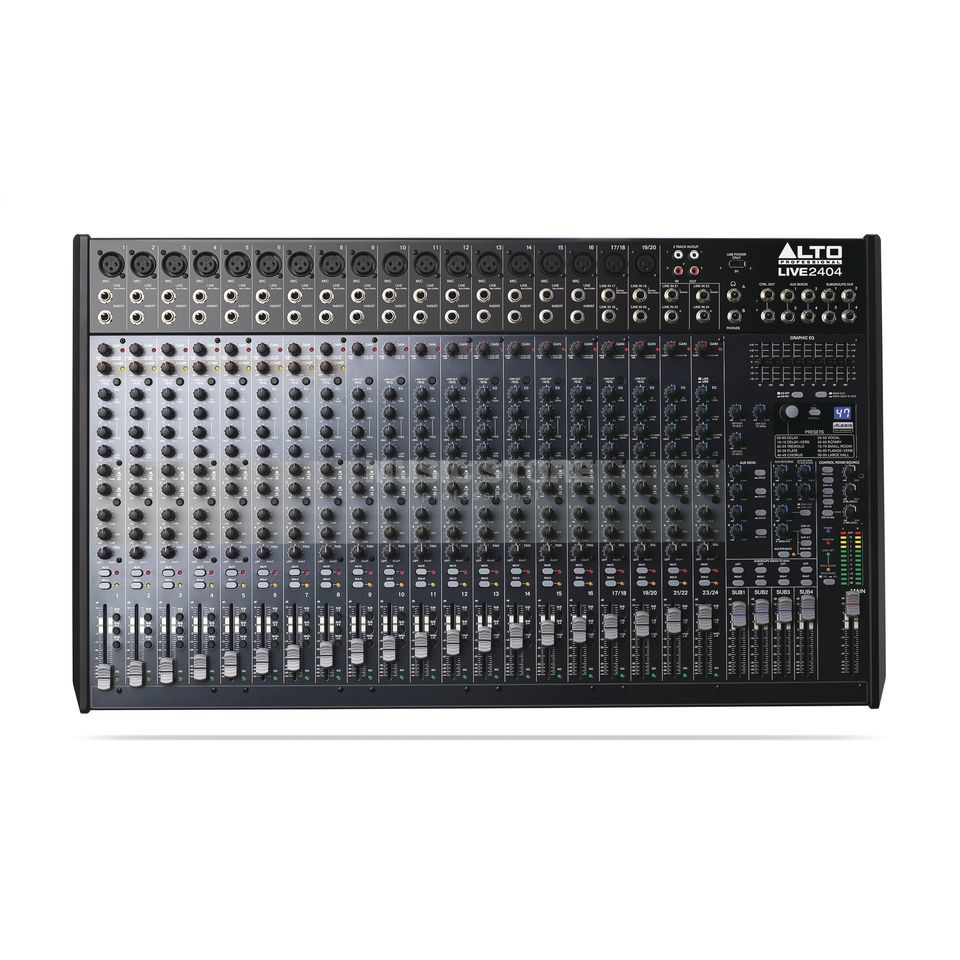 ALTO LIVE 2404 24-Channel/4-Bus Mixer Produktbillede