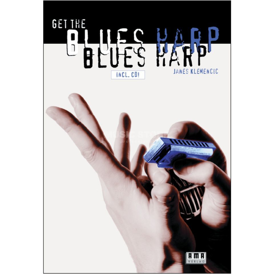 AMA Verlag Get the Blues Harp Janes Klemencic,inkl. CD Product Image