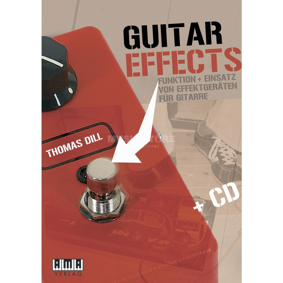 AMA Verlag Guitar Effects Thomas Dill,inkl. CD Produktbillede