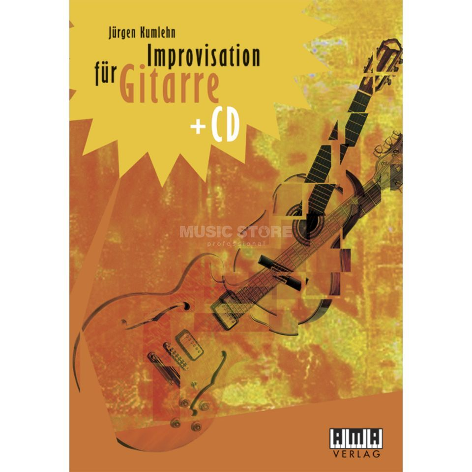 AMA Verlag Improvisation for Guitars Kunmlehn, incl. CD Produktbillede