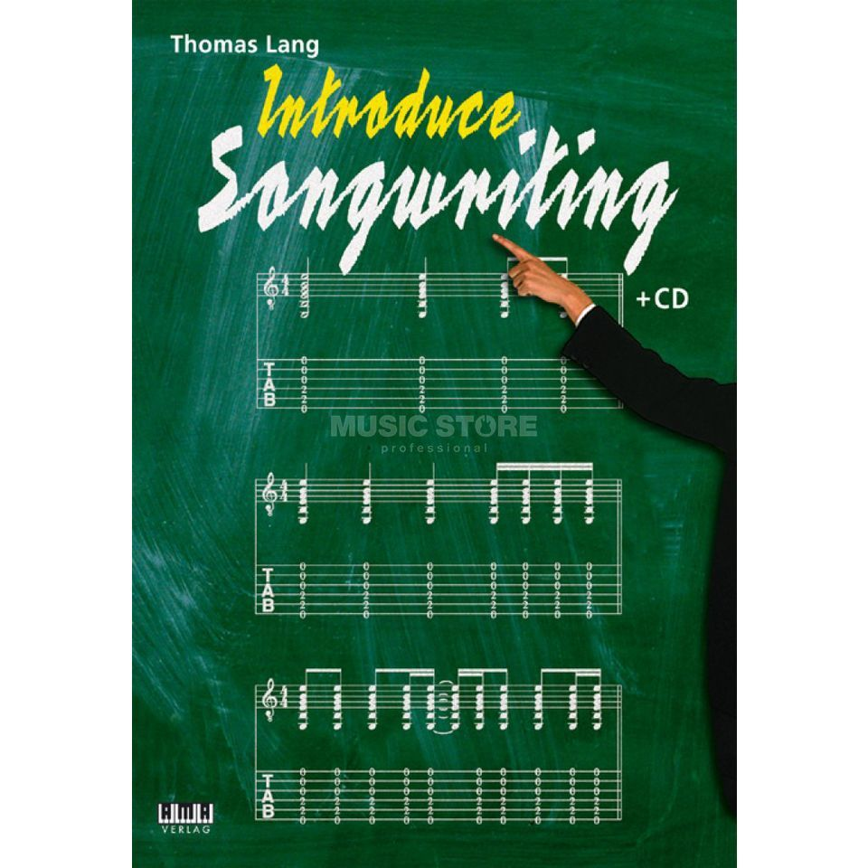 AMA Verlag Introduce Songwriting Thomas Lang Buch/CD Produktbillede