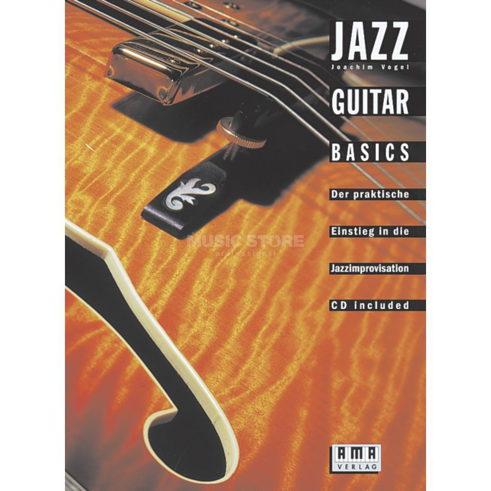 AMA Verlag Jazz Guitar Basics Product Image