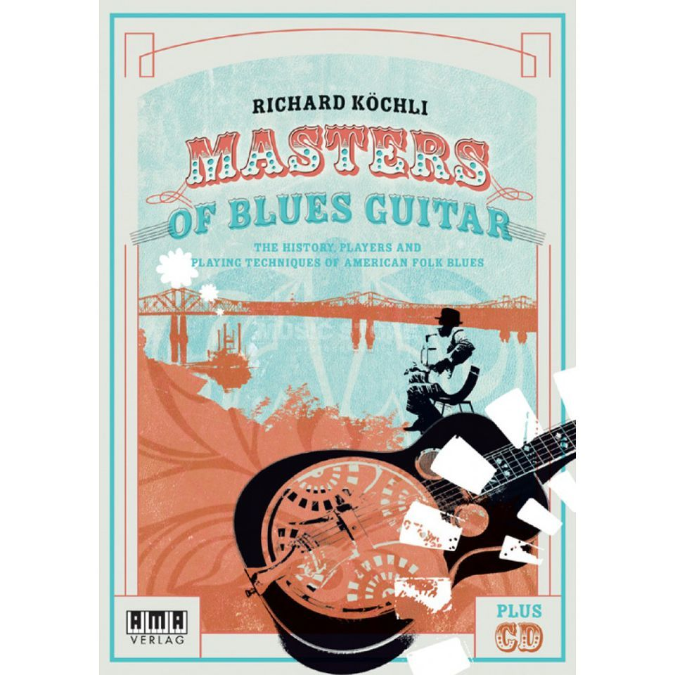 AMA Verlag Masters of Blues Guitar Englisch,inkl. CD Product Image
