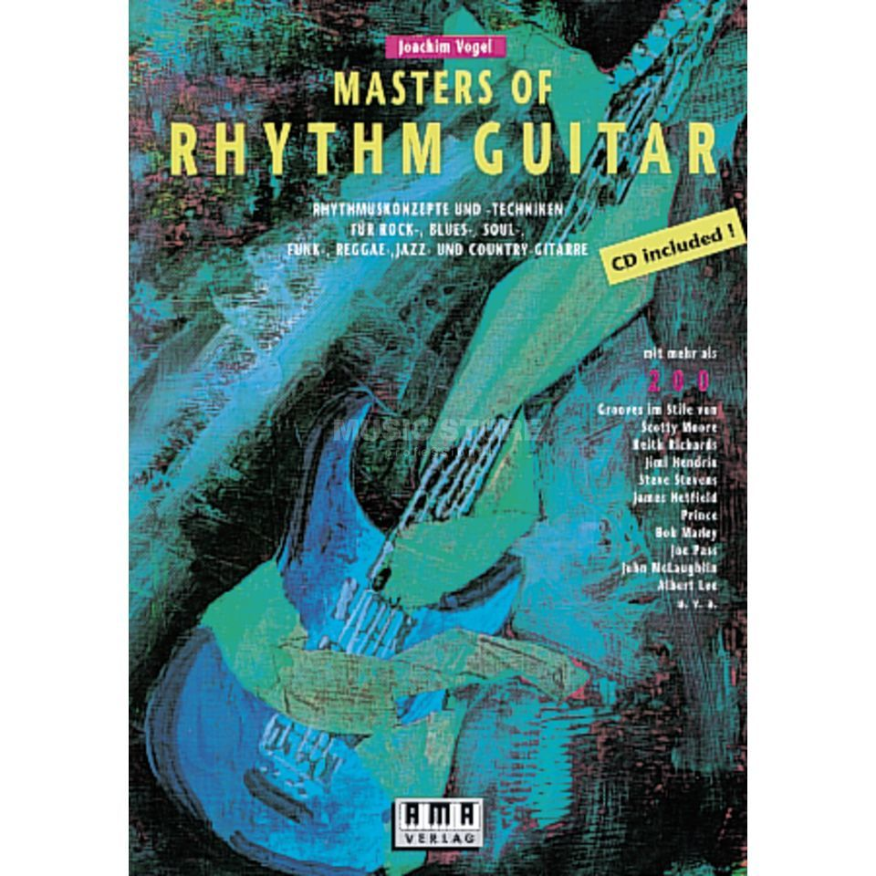 AMA Verlag Masters of Rhythm Guitar Product Image