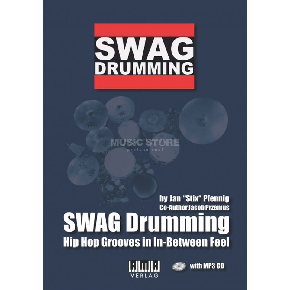 "AMA Verlag Swag-Drumming ENGLISH Jan ""Stix"" Pfennig Zdjęcie produktu"