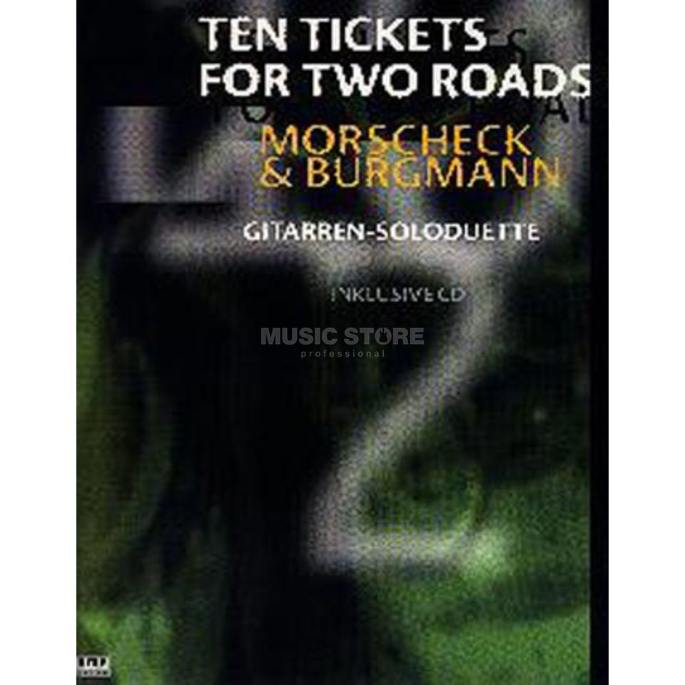 AMA Verlag Ten Tickets for Two Roads Morschek / Burgmann,inkl. CD Produktbillede