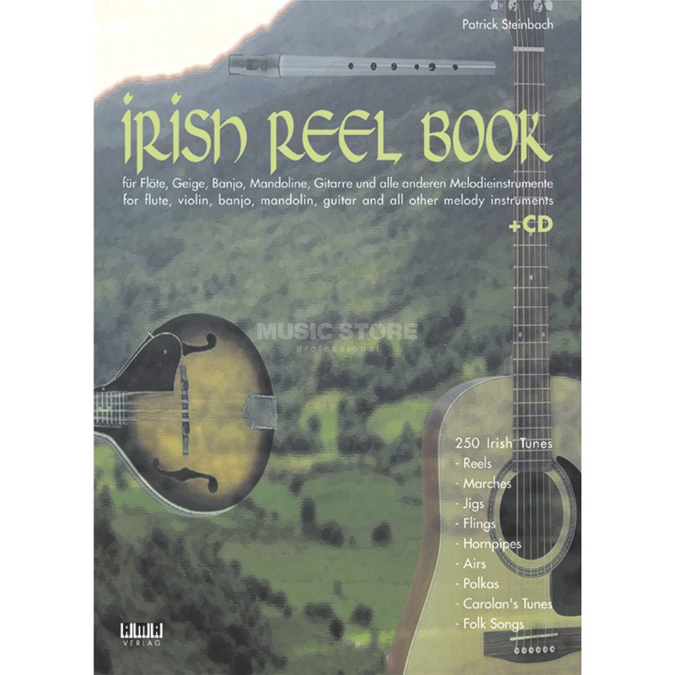 AMA Verlag The Irish Reel Book 250 irische tunes Produktbillede