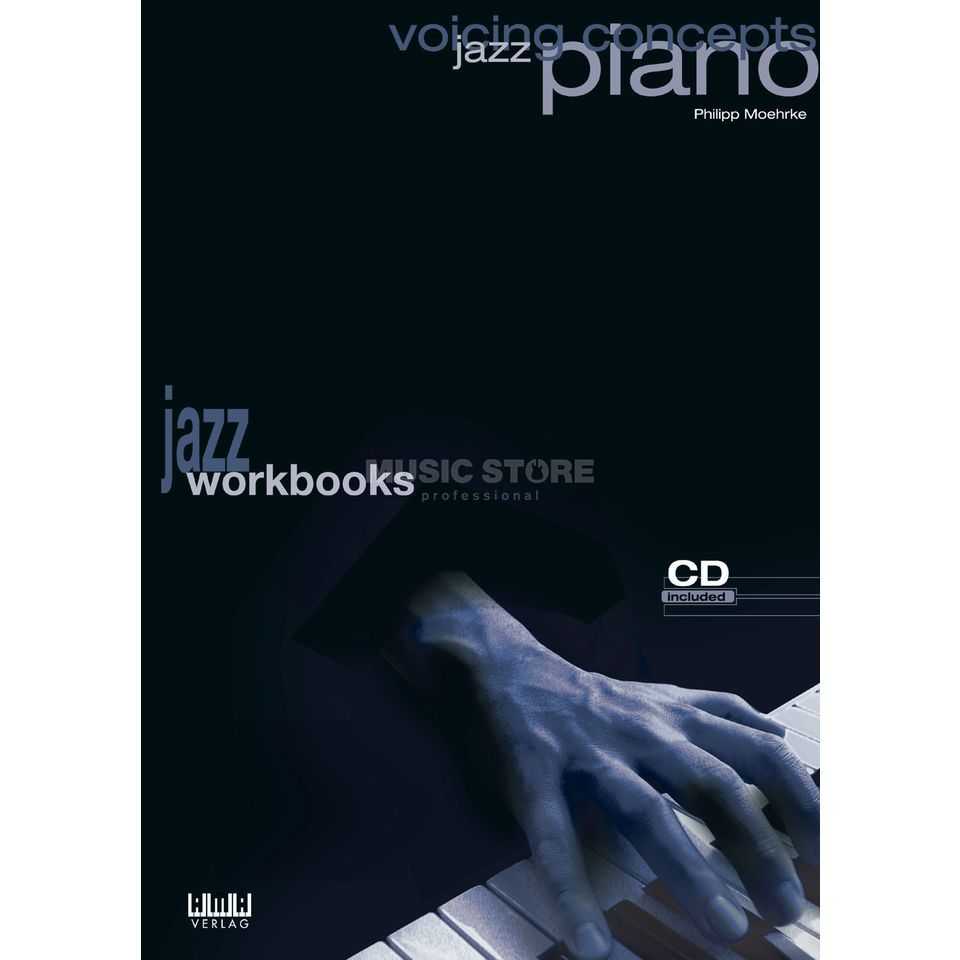 AMA Verlag Voicing Concepts Jazz Piano Philipp Moehrke,inkl. CD Produktbillede