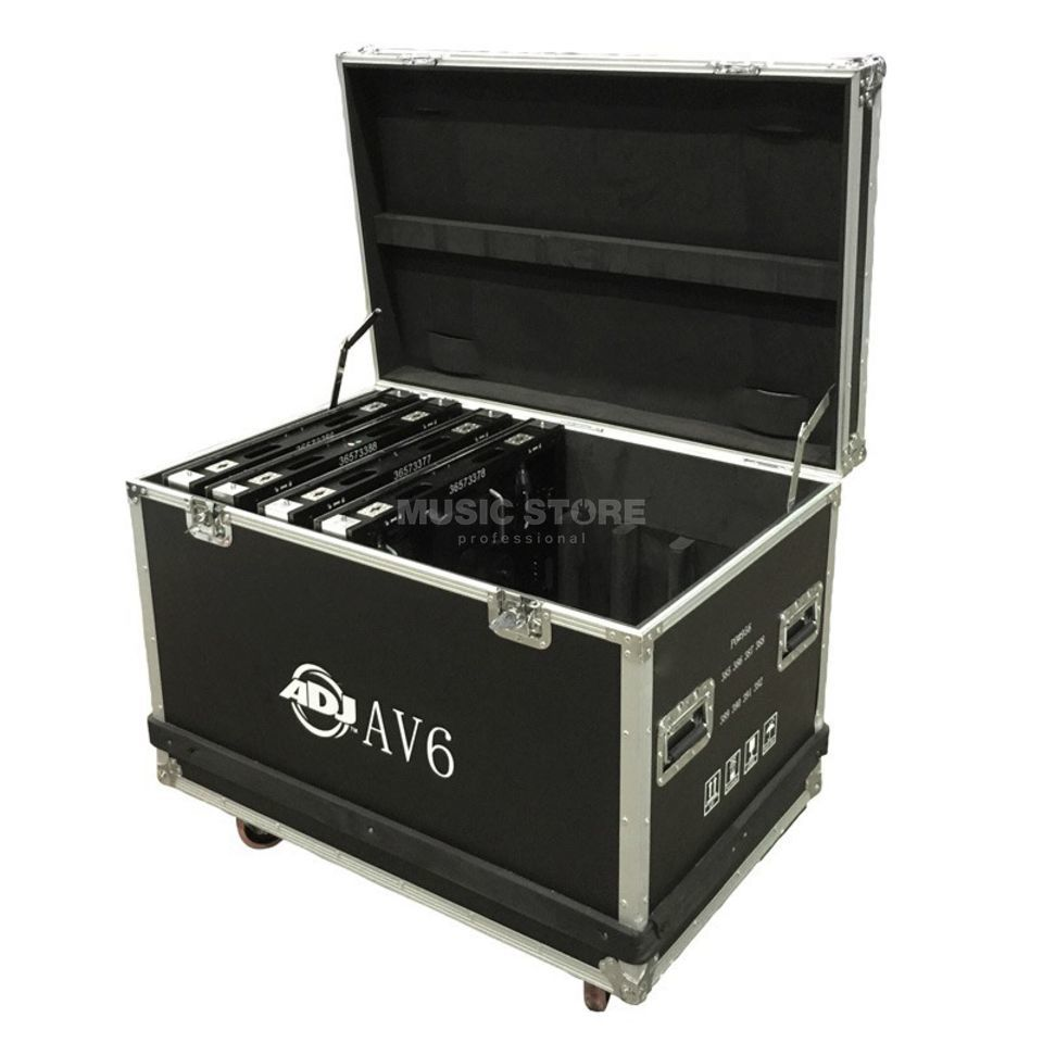 American DJ AV6FC Flight Case  8 x AV6 Video Panel Produktbild