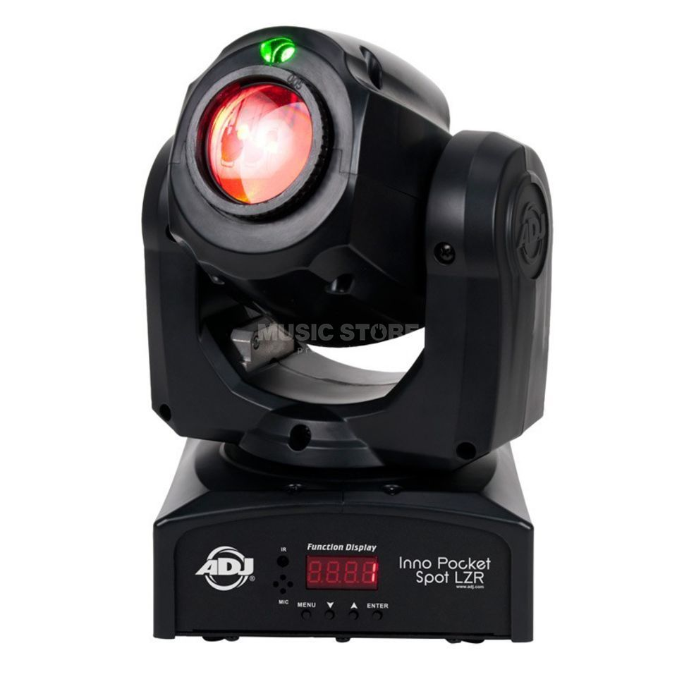 American DJ Inno Pocket Spot LZR 12W LED & 30mW Laser Product Image