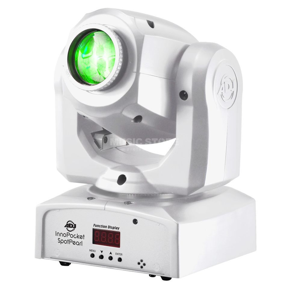 American DJ Inno Pocket Spot PEARL Mini Moving Head, 12W LED, wh. Produktbild