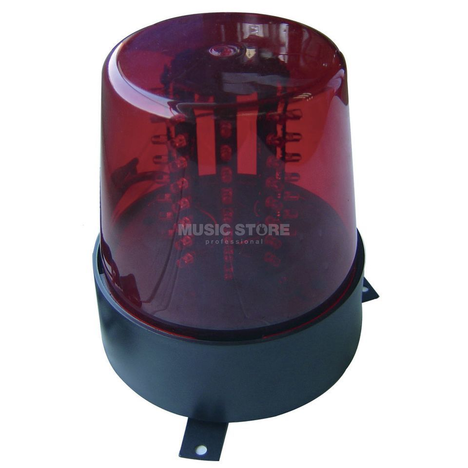 American DJ LED Police Light Beacon Red mit 56 LEDs Produktbild