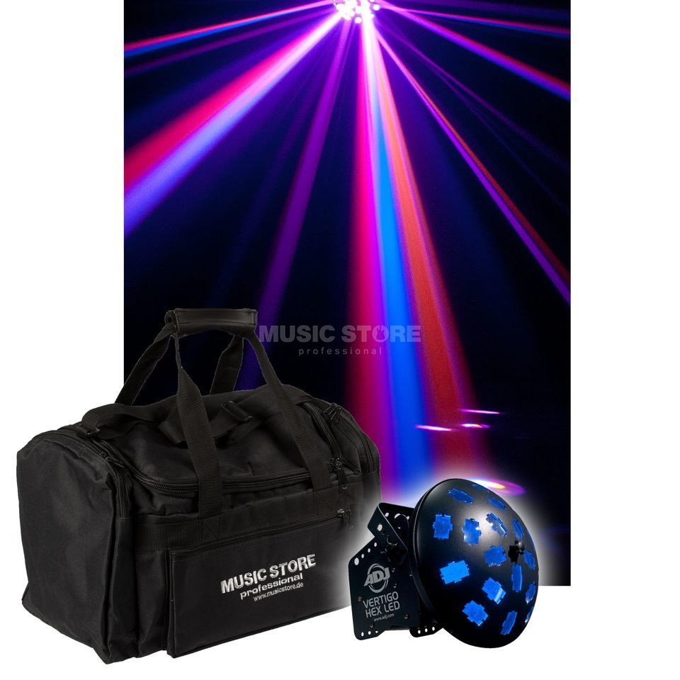 American DJ Vertigo HEX LED + Bag - Set Product Image