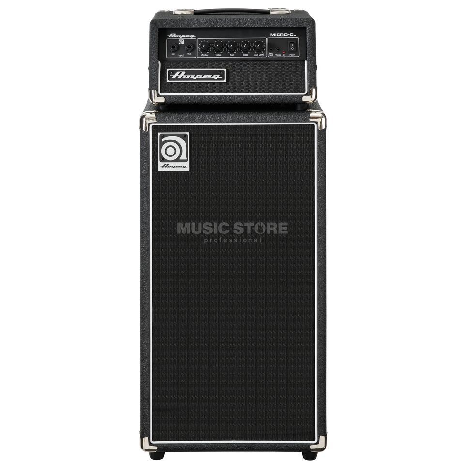 Ampeg Micro-CL Bass Guitar Amplifier  Mini Stack   Изображение товара
