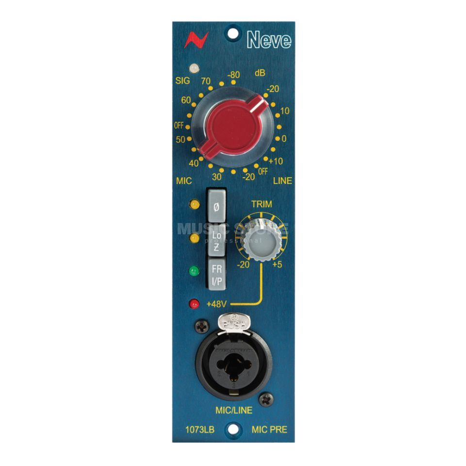 AMS Neve 1073 LB Mono Mic Preamp 500- and Lunchbox kompatibel Produktbild