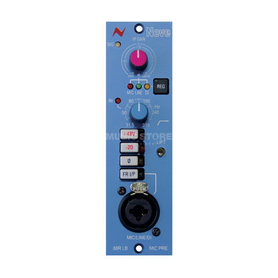AMS Neve 88 RLB Preamp 500-Series and Lunchbox Produktbild