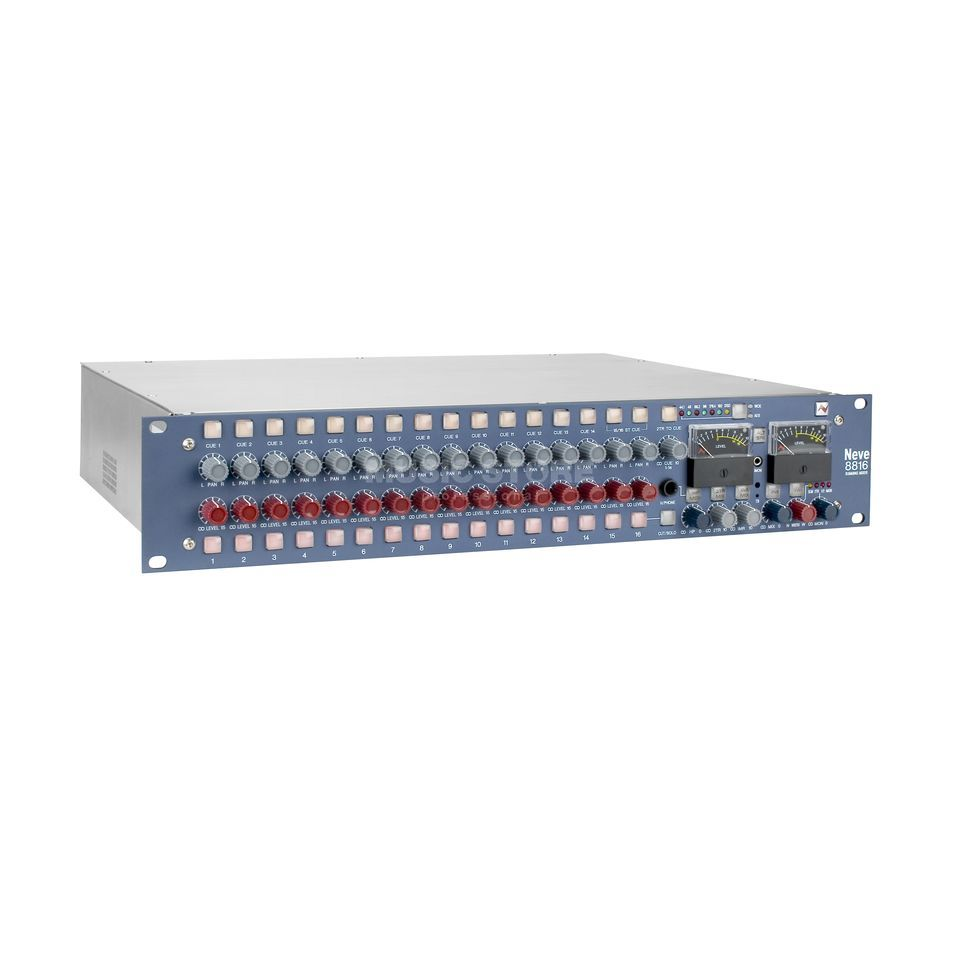 "AMS Neve 8816 Summing Mixer dig. Out 16-Channel 19"", incl.  dig.Option Produktbillede"
