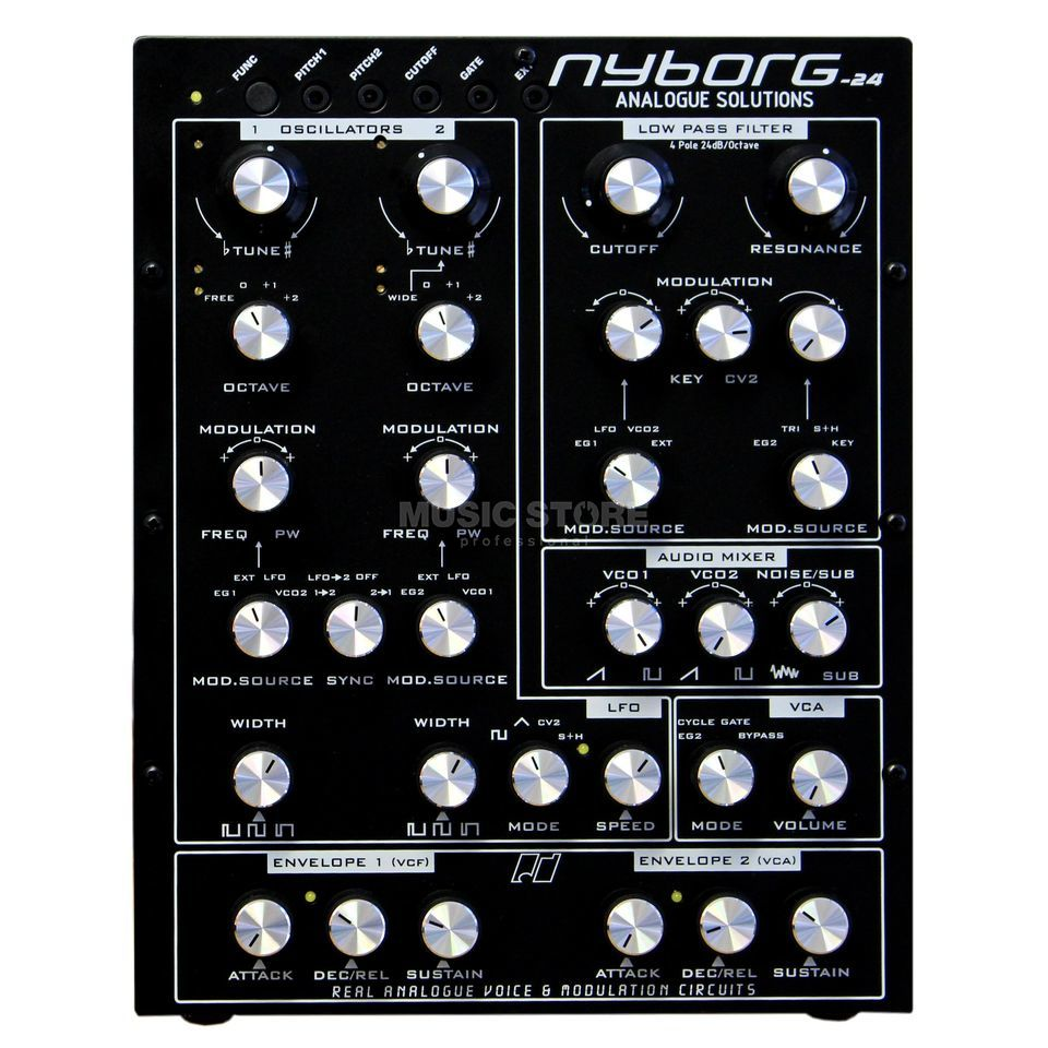 Analogue Solutions Nyborg-24 compact analogue Synth Produktbillede