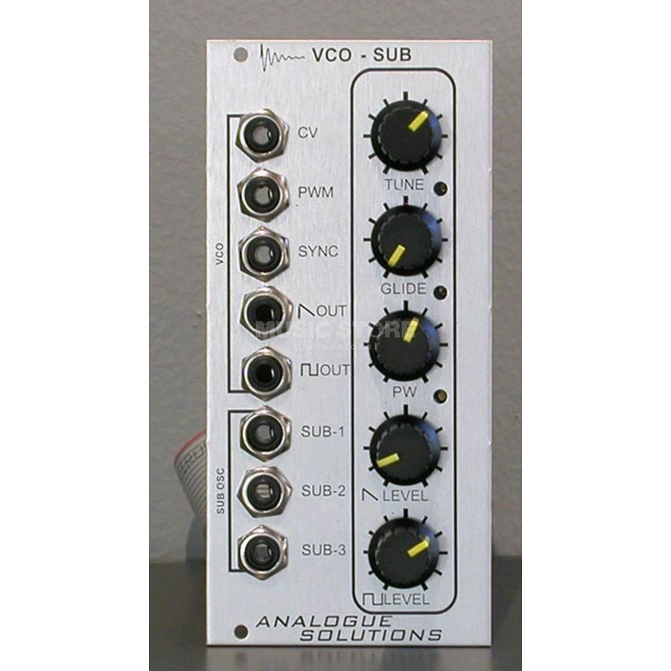 Analogue Solutions VCO-SUB Eurorack Modul Produktbild
