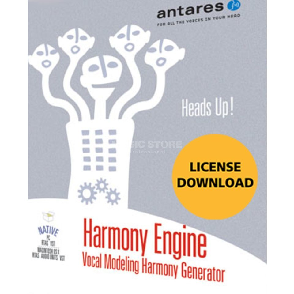Antares Harmony Engine EVO Plug In - Download license Product Image