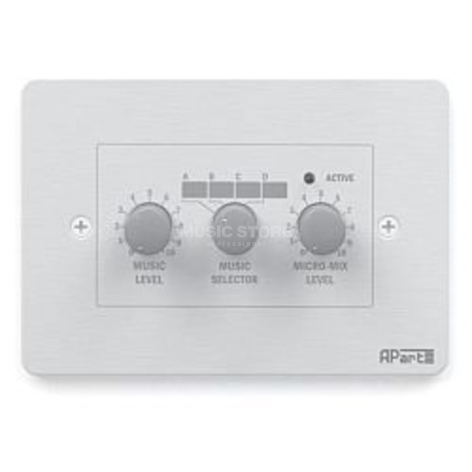 Apart PM1122R Zones-Control Wall Panel RJ45 Connection Produktbillede