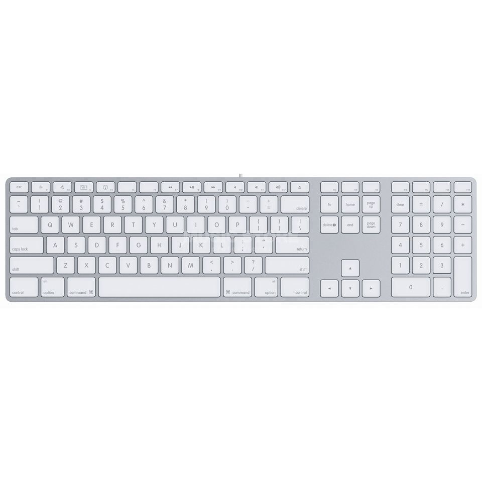 Apple Keyboard Alu International Produktbillede