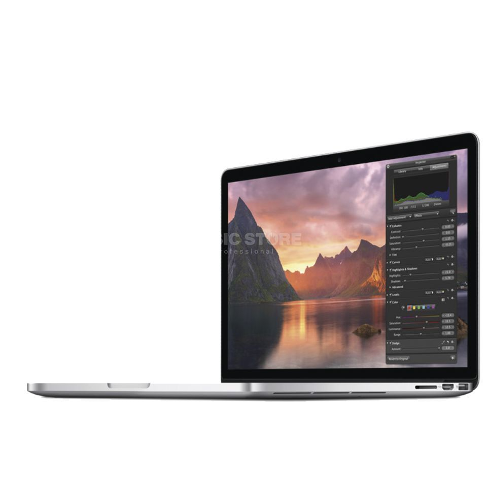 "Apple MacBook Pro 15"" 2,2GHz Retina 16GB RAM, 256GB PCIe Flash Produktbild"