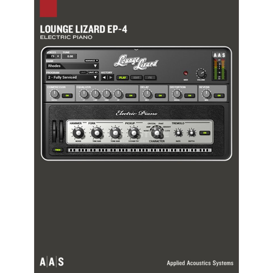 Applied Acoustic Systems AAS Lounge Lizard EP-4  Produktbild
