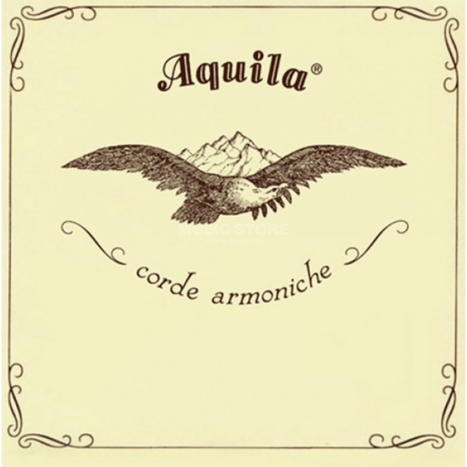 Aquila Corde Strings Sophran-Ukulele 5U Set, Low G, Key of C Produktbillede