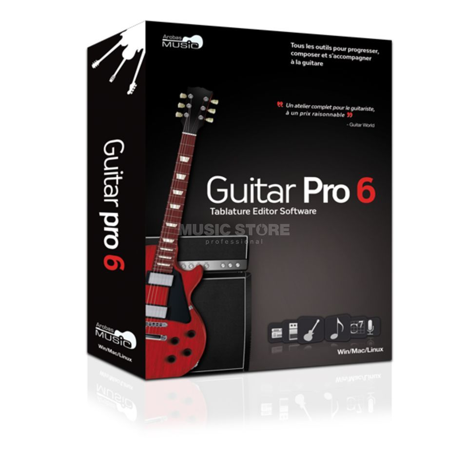 Arobas Guitar Pro 6 Tablature Software Produktbillede
