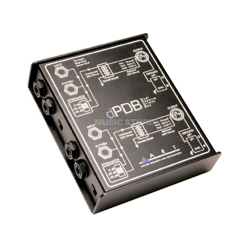 ART Applied Research & Technology dPDB Dual passive Direct Box -  Produktbillede