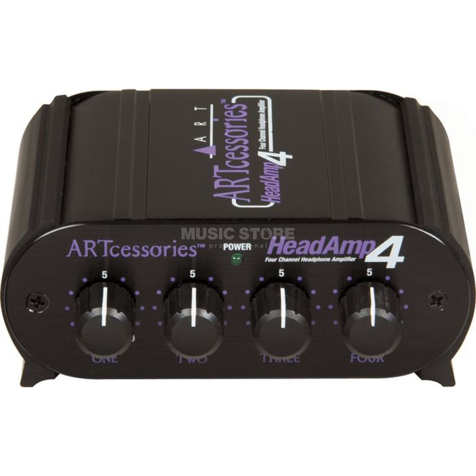 ART Applied Research & Technology HeadAmp 4 4-CH Mini-Kopfhörerverstärker Produktbild