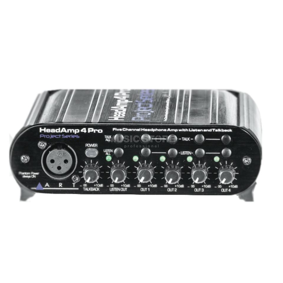 ART Applied Research & Technology Headamp 4 Pro 4-Ch Headphone Preamp Produktbillede
