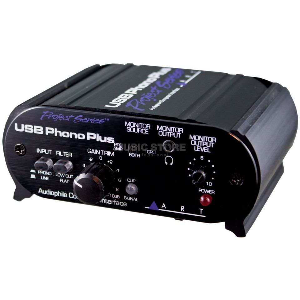 ART Applied Research & Technology USB Phono Plus Project Series Phonopreamp mit USB Ausgang Produktbild