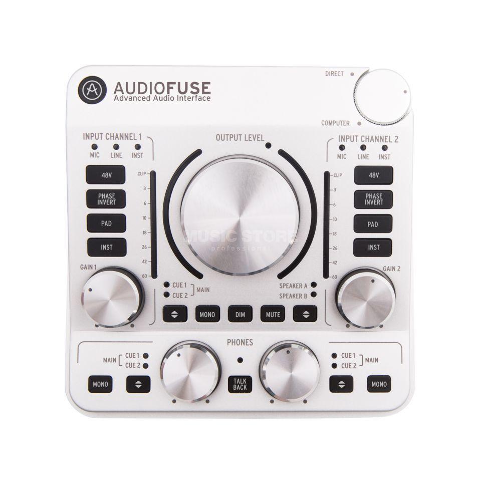 Arturia Fuse Box Trusted Wiring Diagram Audio Audiofuse Classic Silver Cartoon