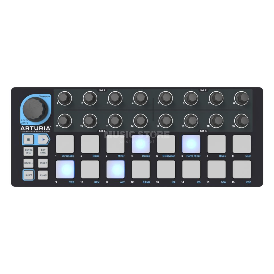 Arturia Beatstep Black Edition Limitierte Version Productafbeelding