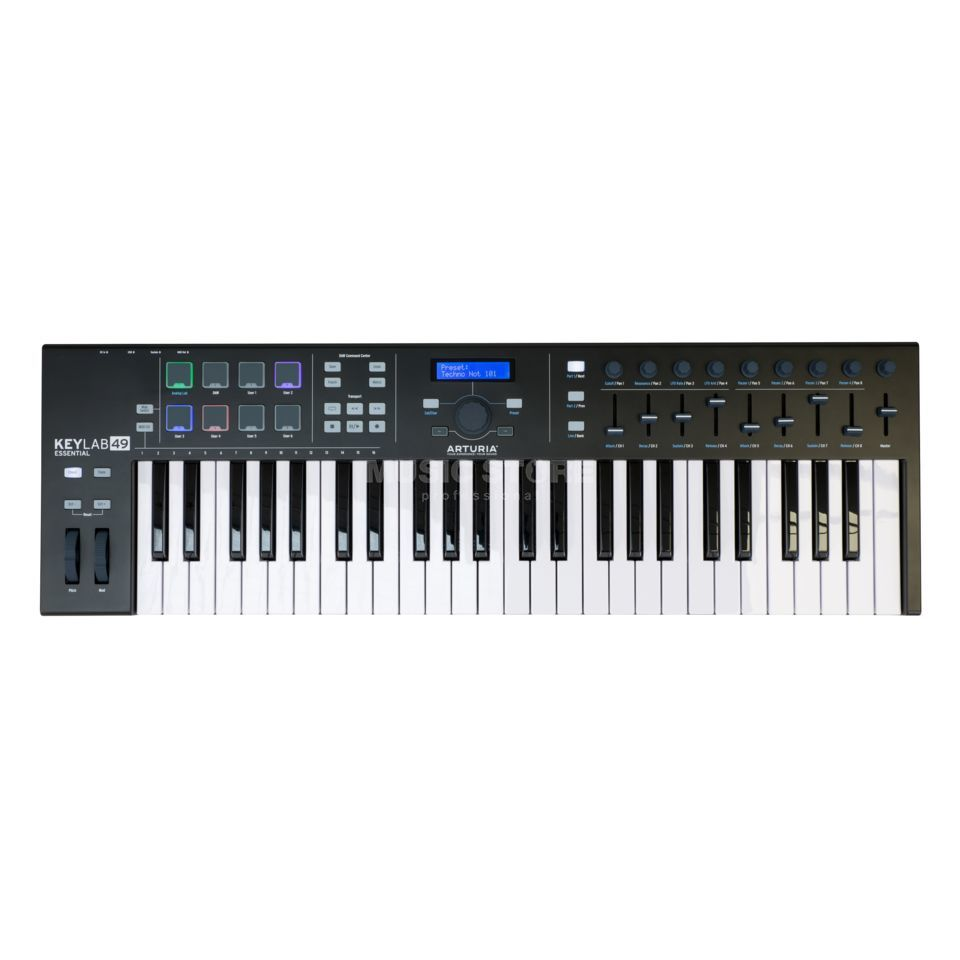 arturia keylab essential 49 be usb controller keyboard dv247 gb. Black Bedroom Furniture Sets. Home Design Ideas