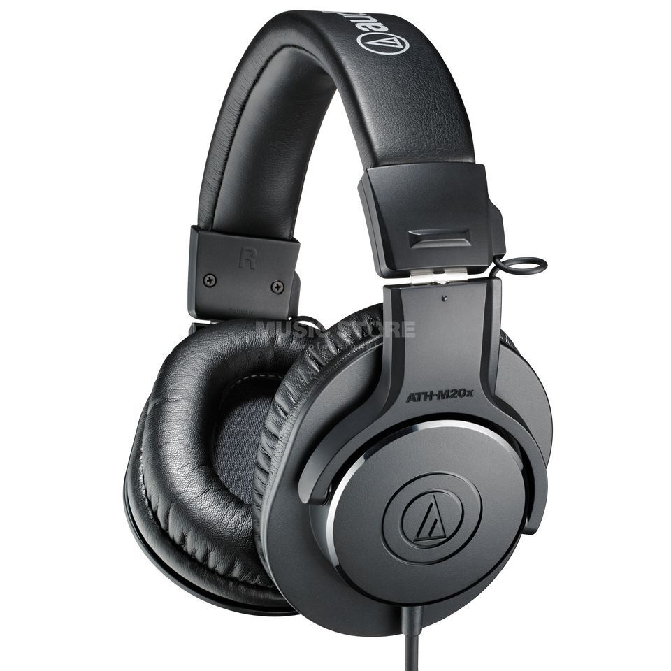 Audio-Technica ATH-M20x - closeder Studio Headphones Produktbillede
