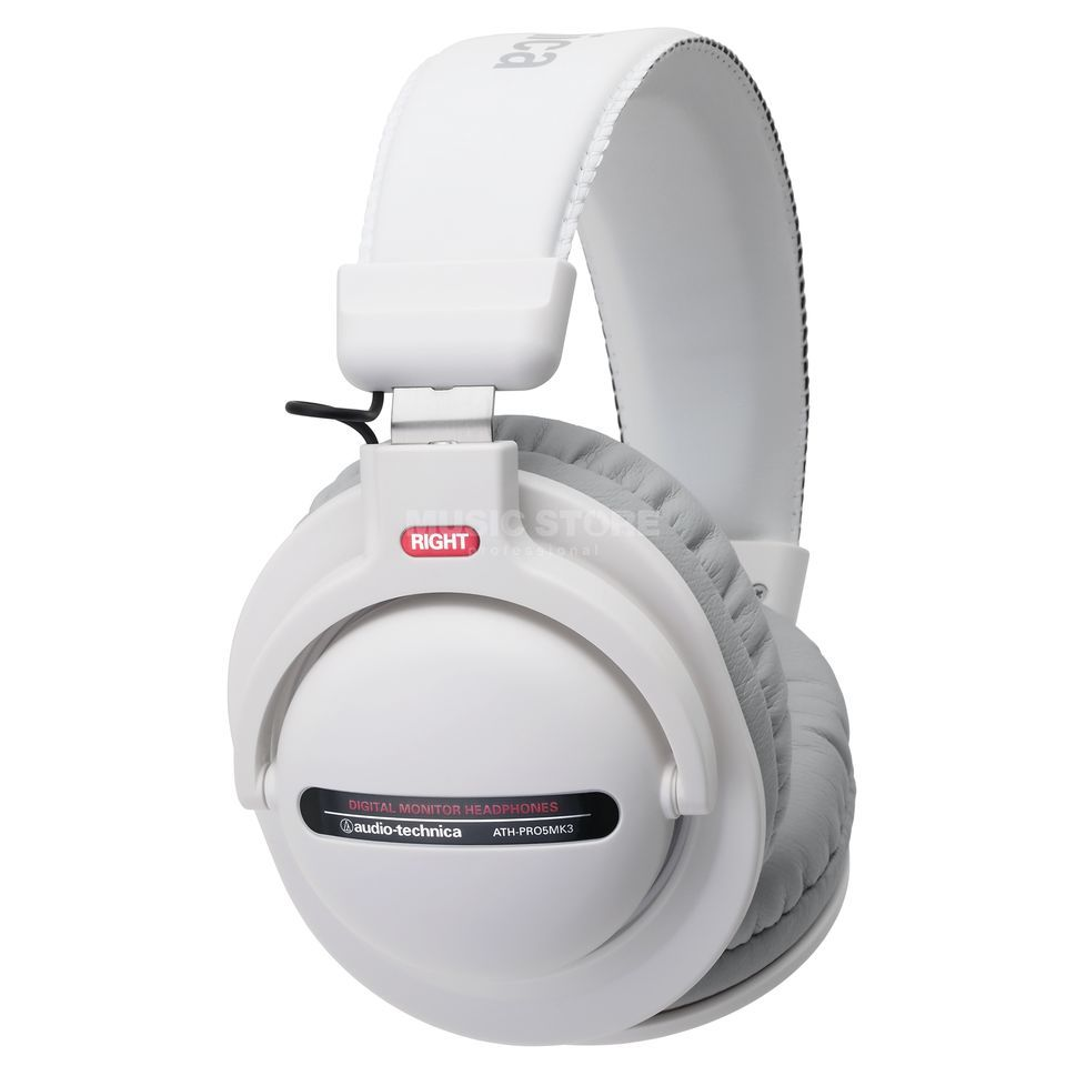 Audio-Technica ATH-Pro5 MK3 WH DJ Headphones, white Изображение товара