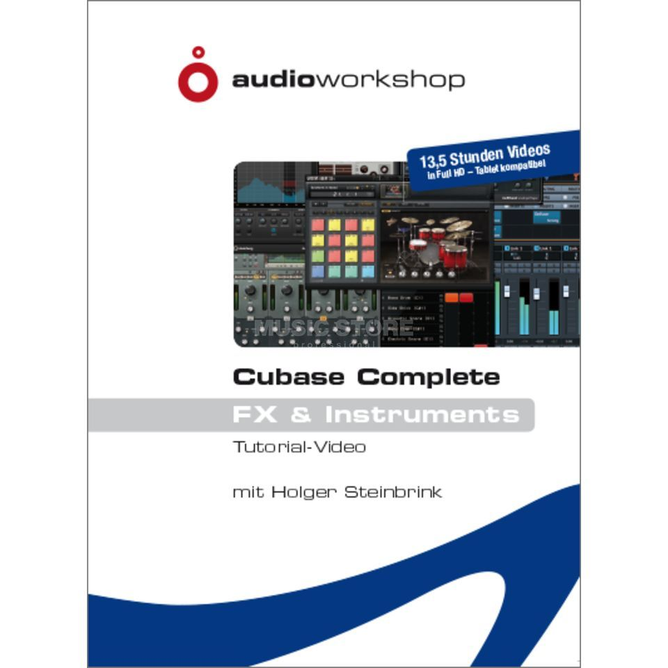 Audio Workshop Cubase Complete - FX + Instr  Produktbild