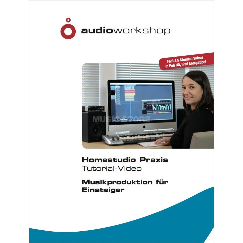 Audio Workshop Homestudio Praxis Tutorial Video DVD    B-Stock Produktbild