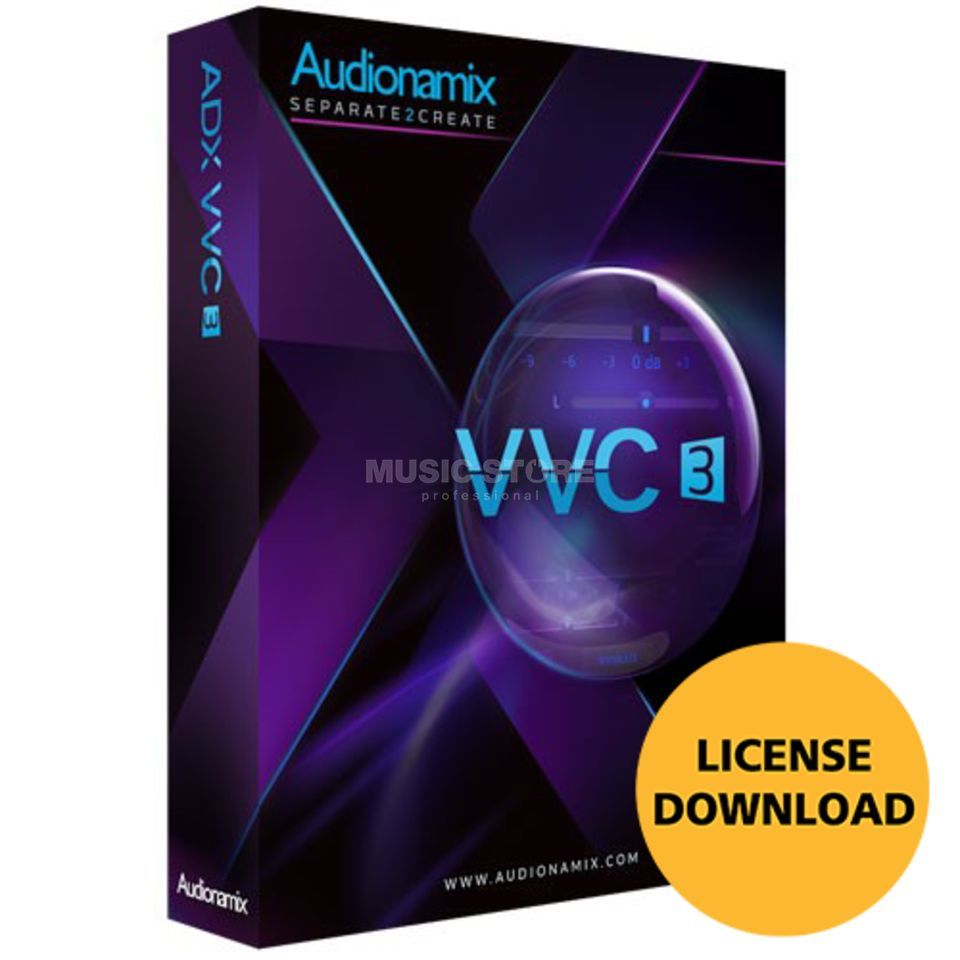 AUDIONAMIX INC. ADX VVC License Code Produktbild