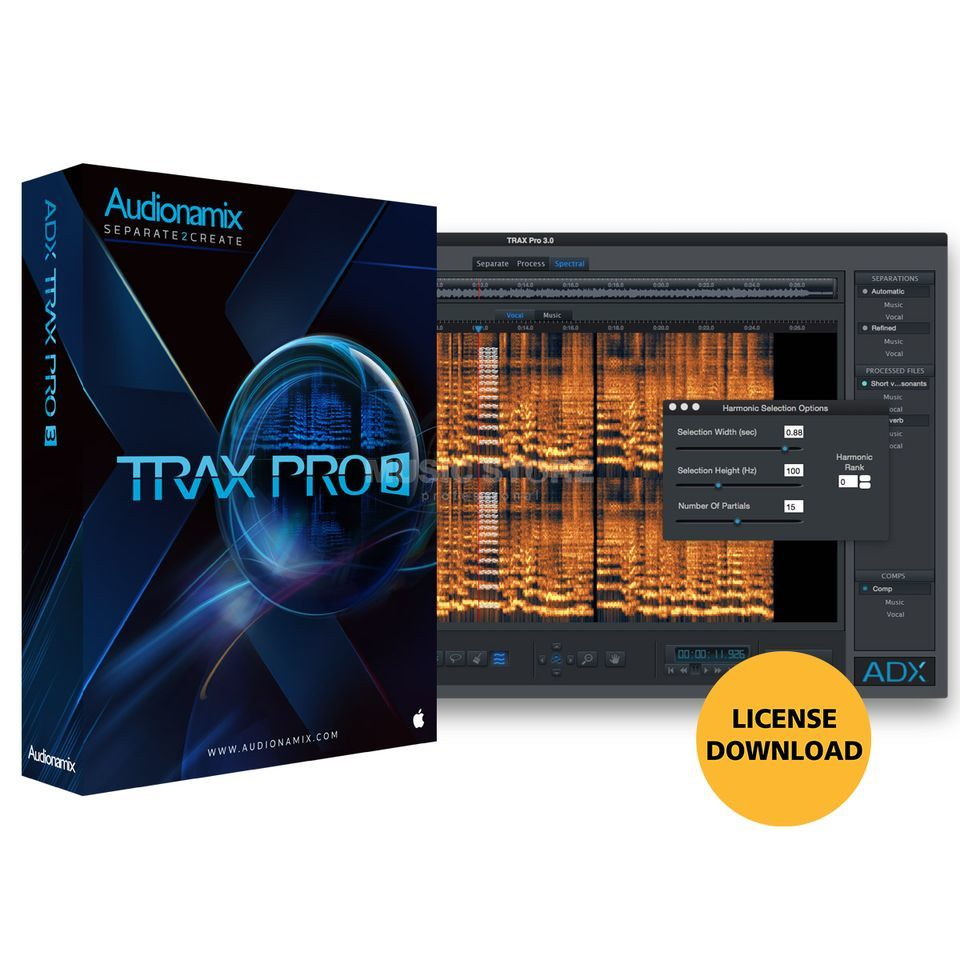 AUDIONAMIX INC. Trax Pro (Download) Product Image