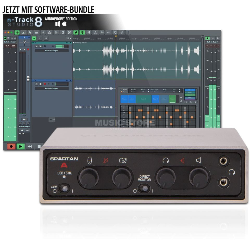 Audioprobe Spartan A GREY & n-Track Bundle Изображение товара