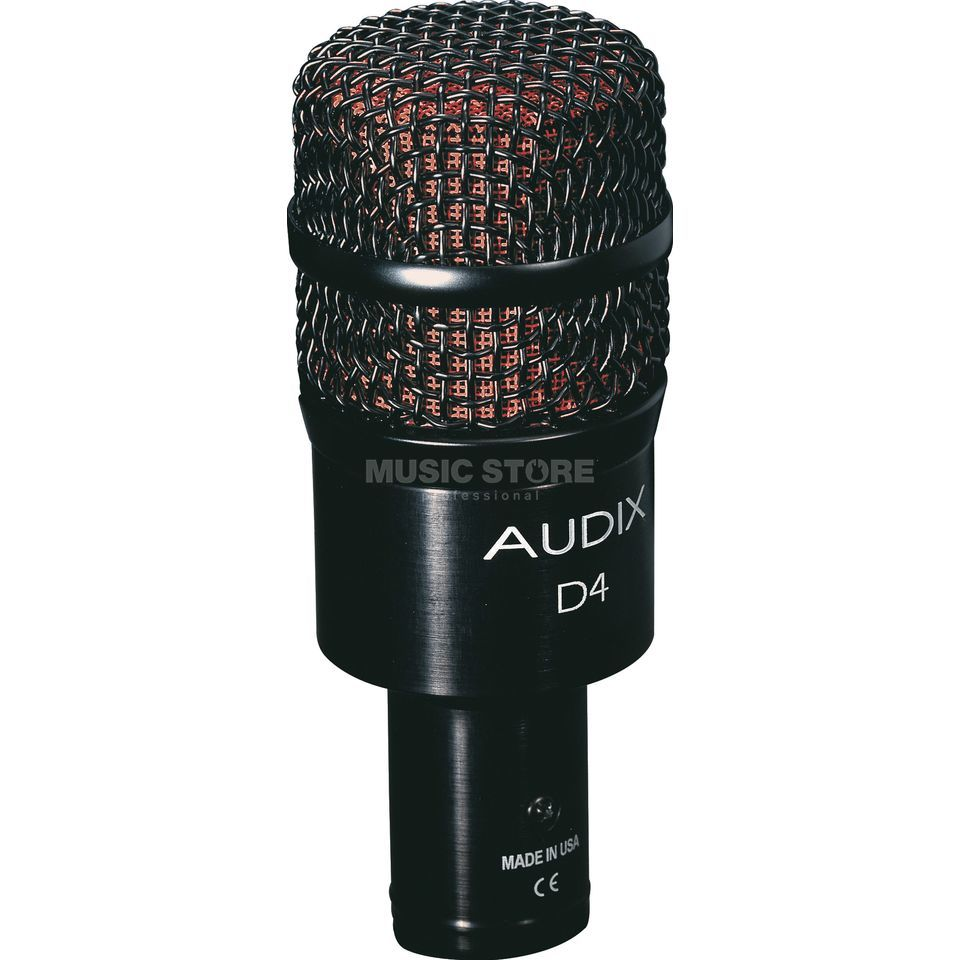 Audix D4 Dynamic Instrument Mic  Product Image