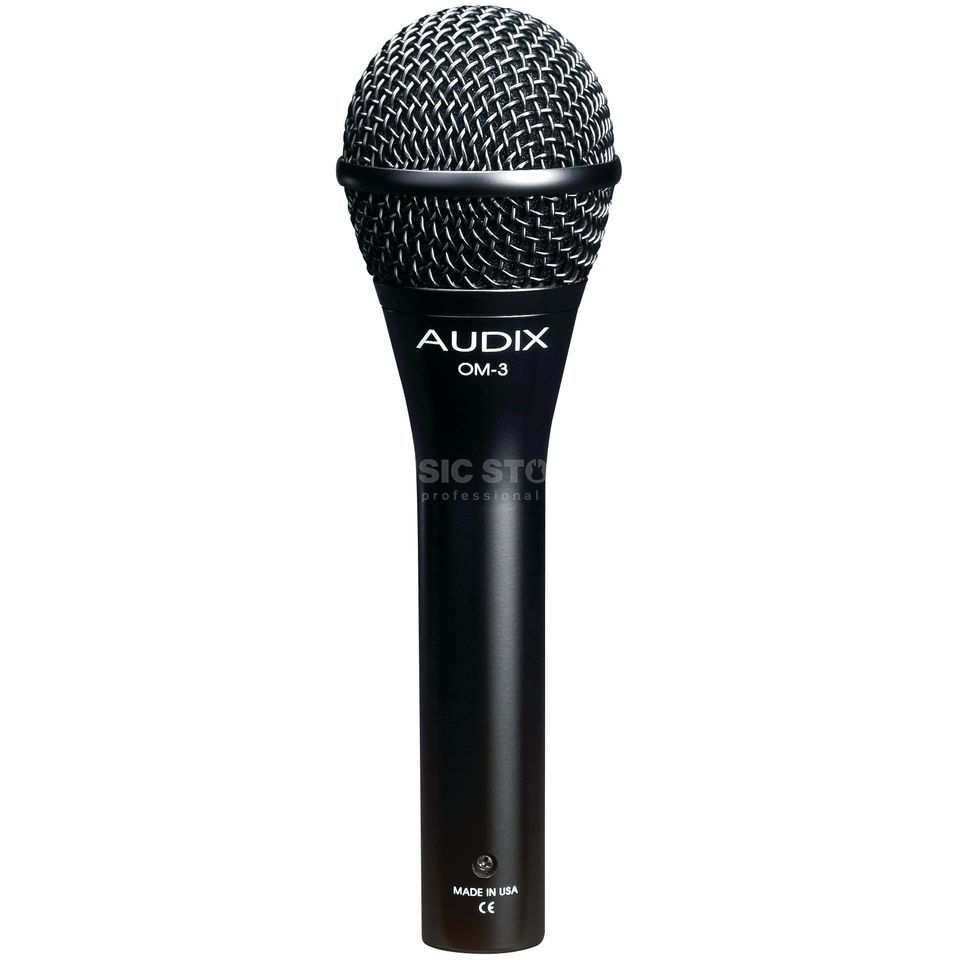 Audix OM3 Dynamic Vocal Microphone    Product Image