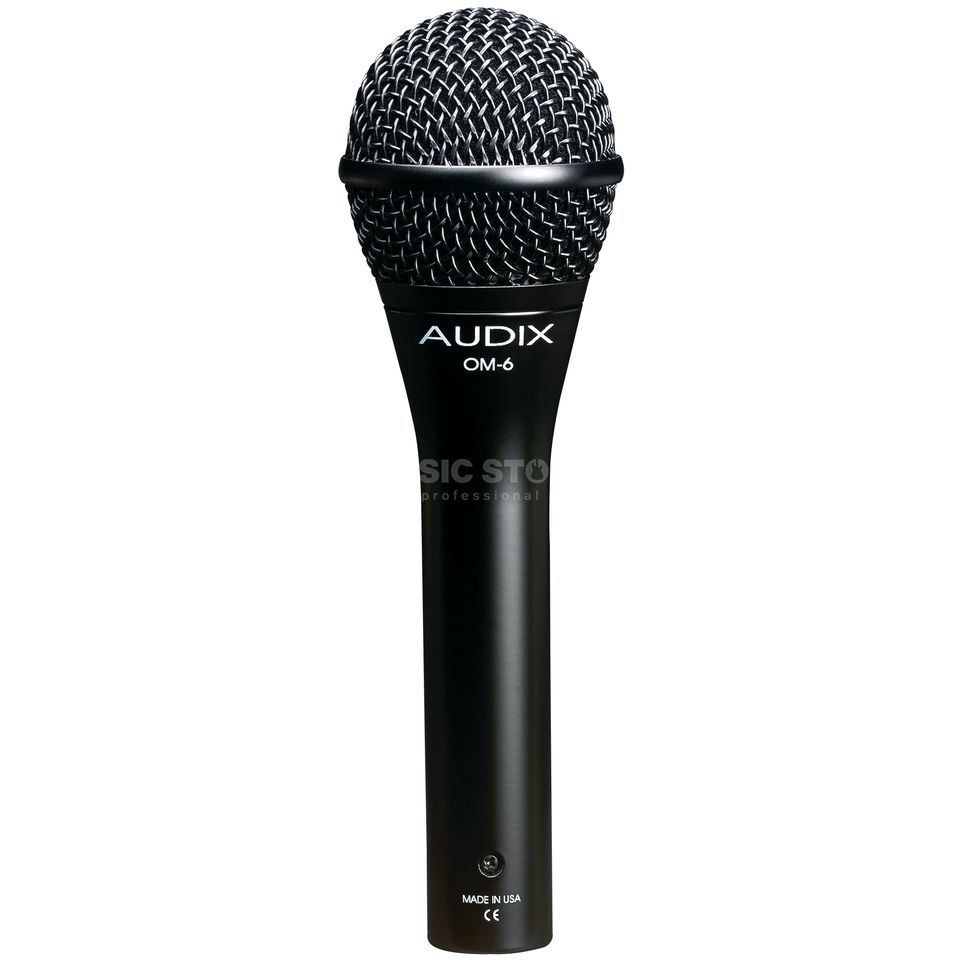 Audix OM6 Dynamic Vocal Microphone    Produktbillede